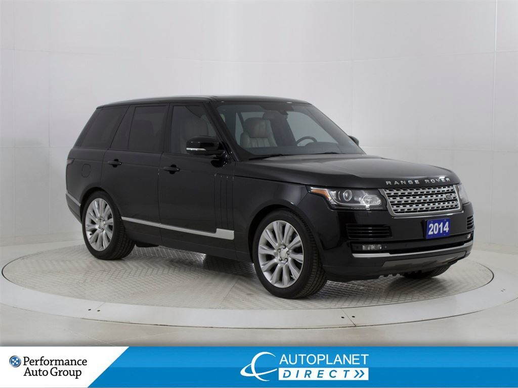 Pre-Owned 2014 Land Rover Range Rover V8 HSE Supercharged 4x4,Navi,Back Up Cam!